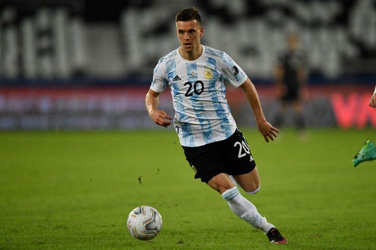 Giovani Lo Celso, lo más claro de Argentina en la Copa América