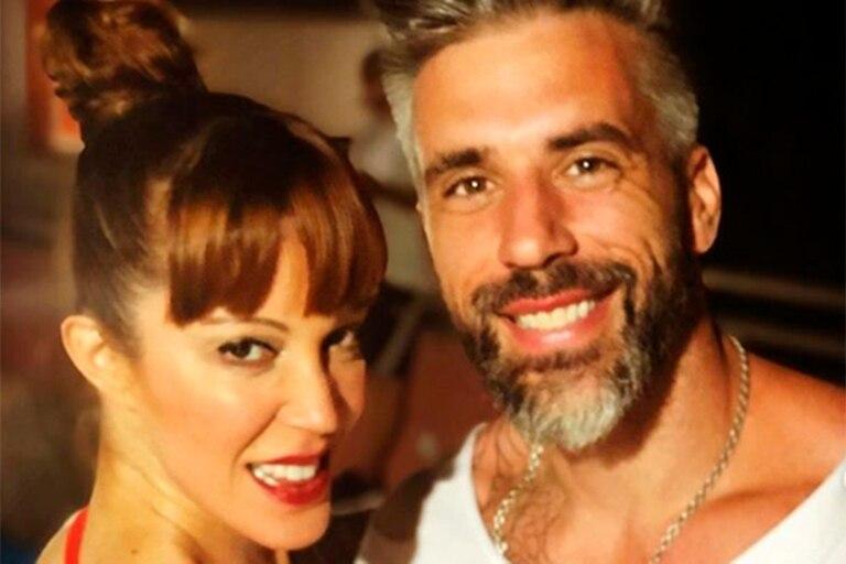 Tras el escándalo, Miriam Lanzoni pasa la cuarentena con su novio, Christian Halbinger