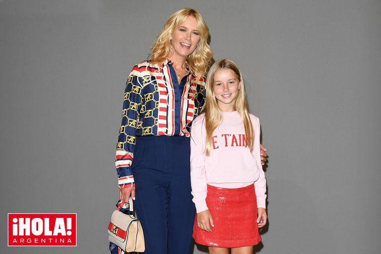 A los 13 años, Taina Gravier, la hija de Valeria Mazza, ¿con ganas de ser modelo?