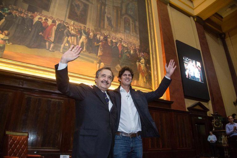 La charla se realizó hoy a las 18 en el Aula Magna de la Facultad de Derecho de la Universidad de Buenos Aires