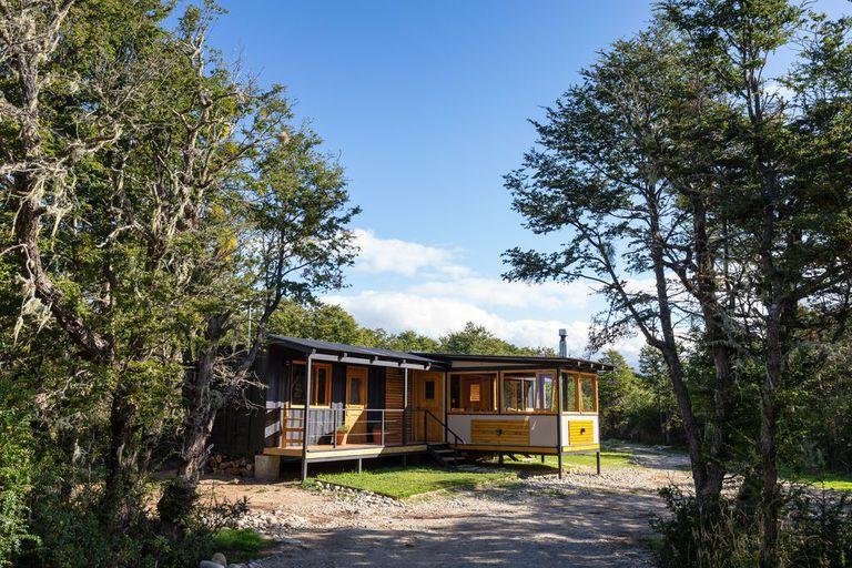 Rodeado de un bosque nativo, Las Pampas es un sitio para desconectarse de todo.