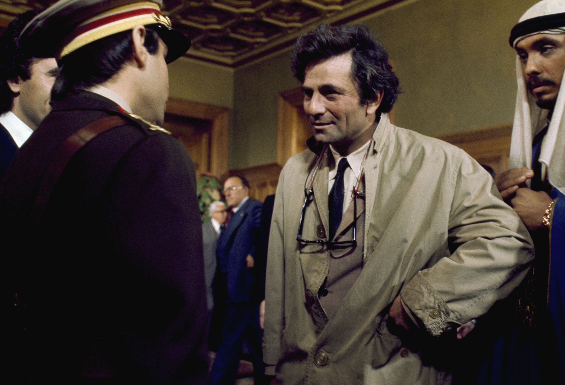 Peter Falk en la piel del detective Columbo
