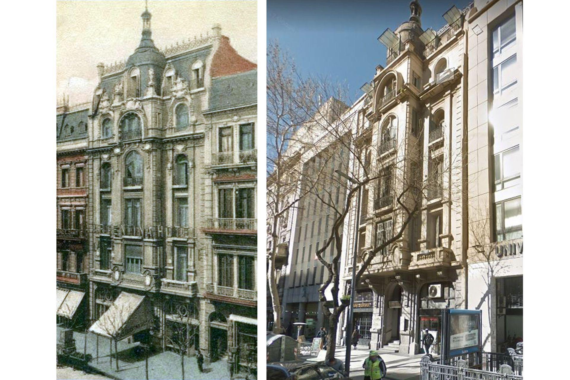 El edificio en el que hoy funciona el hotel La Argentina fue construido en la última década del siglo XIX