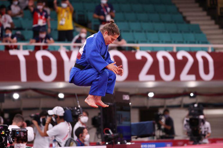 Paula Pareto no pudo quedarse con la medalla de bronce en el repechaje de judo