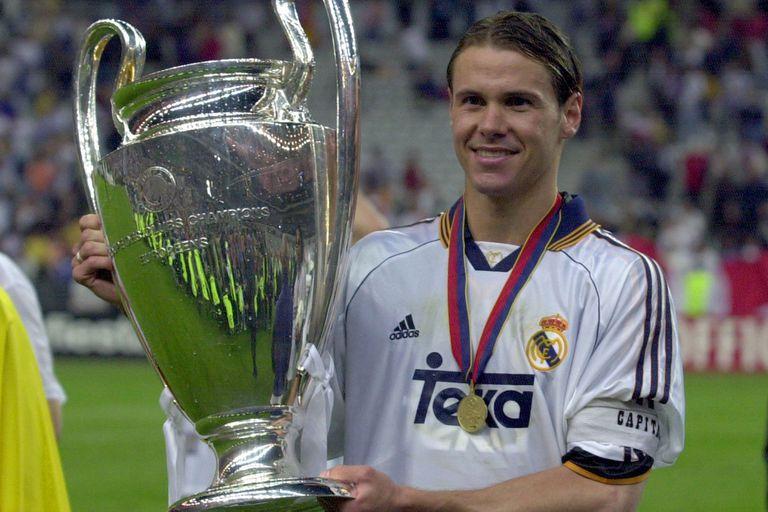 Histórico: Redondo, campeón de la Champions League con Real Madrid