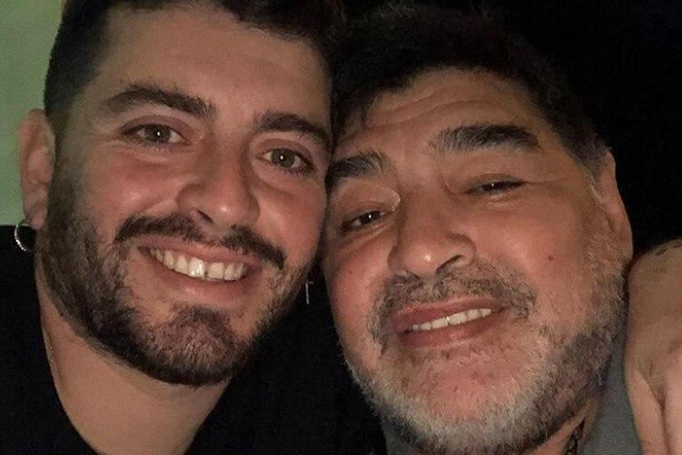 """""""Hice una videollamada con papá en la clínica y estaba riendo, estaba muy bien"""", contó Diego Maradona Jr. a la televisión italiana"""