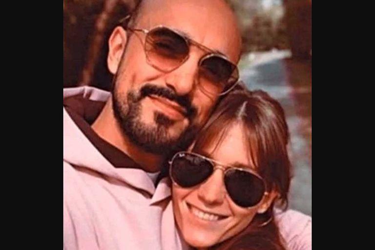 Abel Pintos y su novia, Mora Calabrese, una empresaria de 31 años madre de una niña