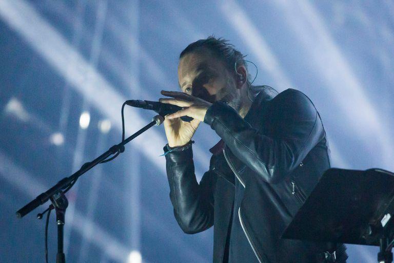 Radiohead tuvo que parar su recital por 10 minutos por problemas de seguridad