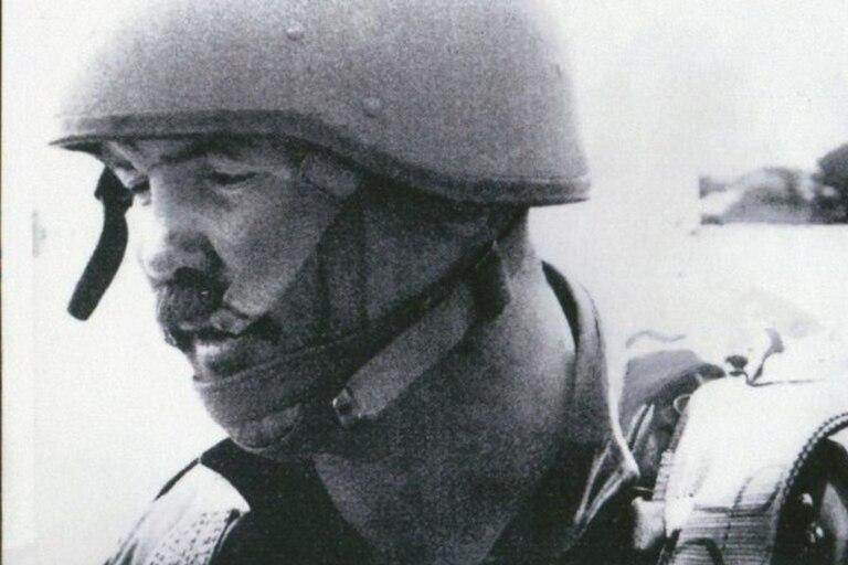 McAleese en la fuerza de defensa de Sudáfrica en la década de 1980