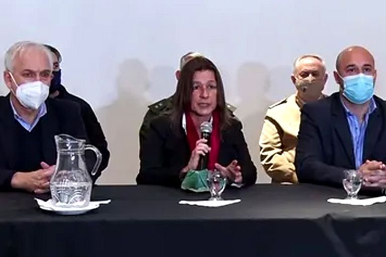 La ministra Sabina Frederic en Corrientes