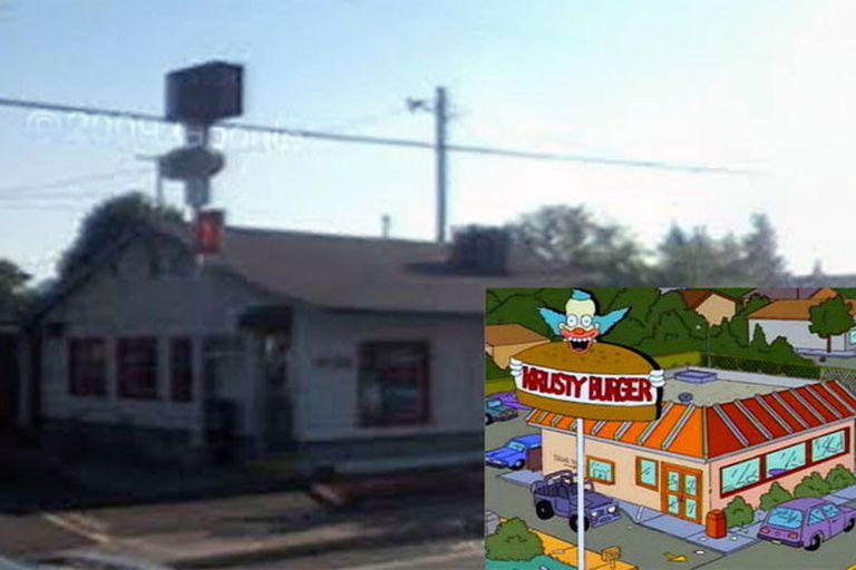 ¿Krusty''''s Burger?