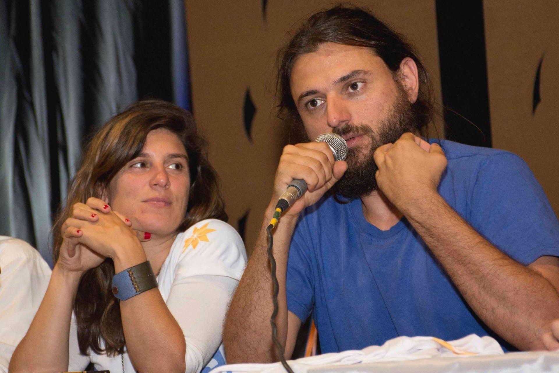 Gabriela Carpineti y Juan Grabois