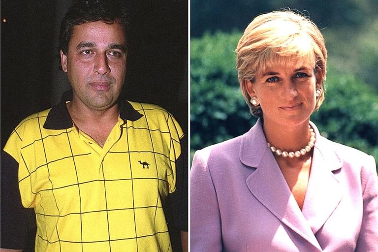 Hasnat Khan vivió un romance apasionado durante los dos últimos años de vida de la princesa Diana