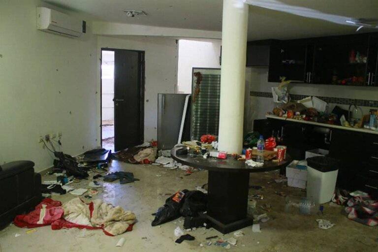 La casa todavía guarda testimonio del operativo que se realizó para capturar al Chapo Guzmán, en enero de 2016