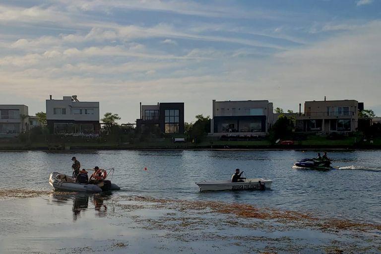 Escobar: desapareció un joven mientras remaba en kayak en un country