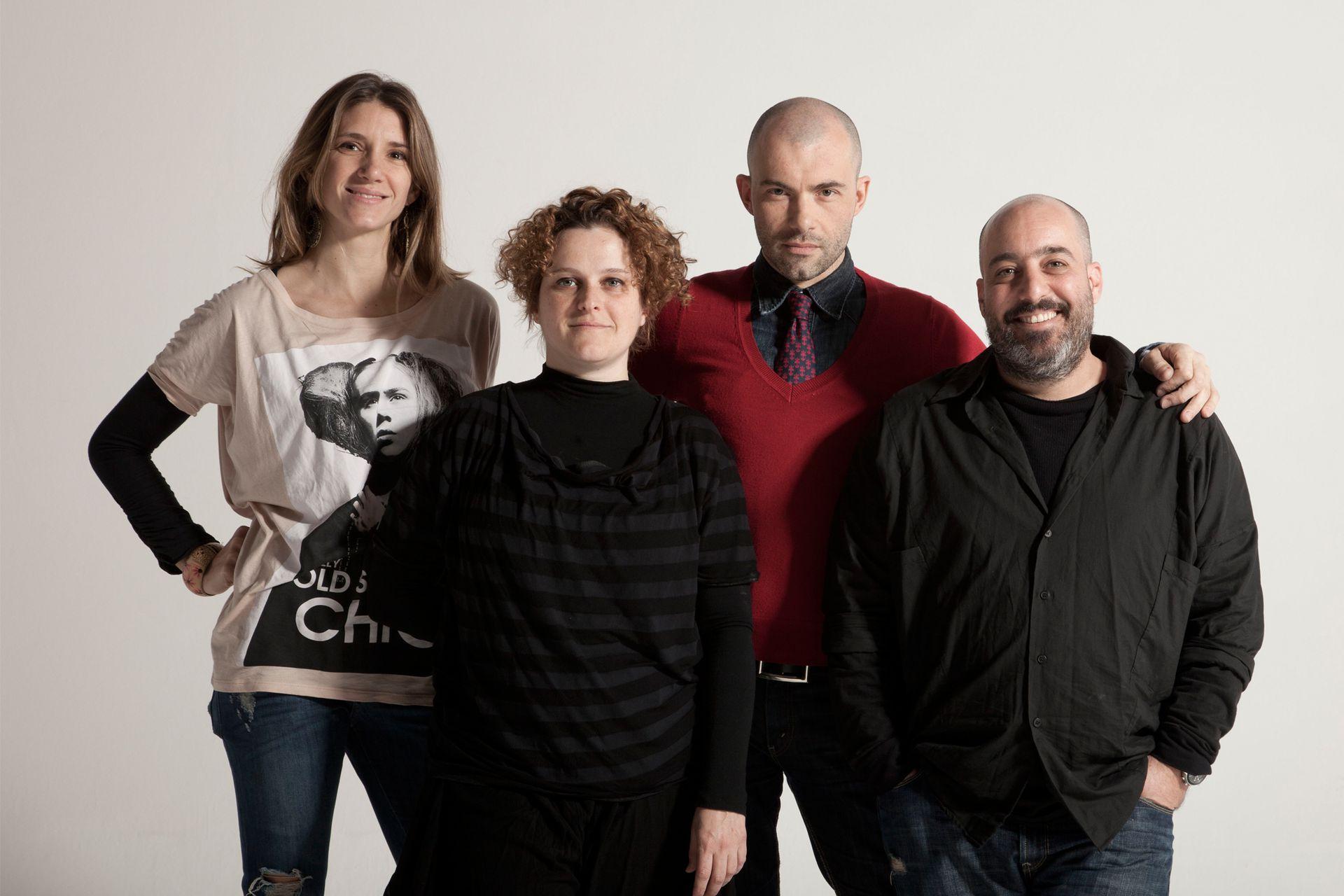 Cuando trabajaba en Santana Textiles y la empresa hizo una alianza con la marca argentina Kostume.