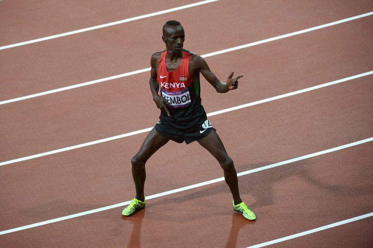 El keniata Ezekiel Kemboi, especialista en 3000 con obstáculos