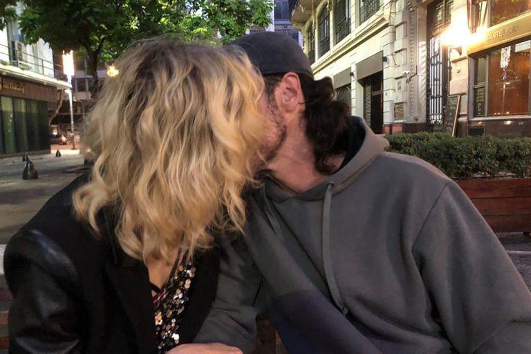 Gloria Carrá presentó a su nuevo novio en sociedad: el periodista Nacho Levy