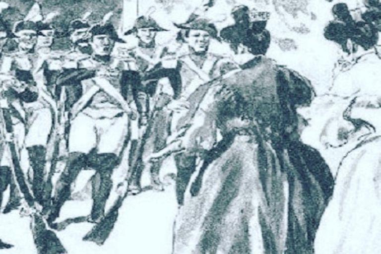 Retrato de época alusivo a Martina Céspedes