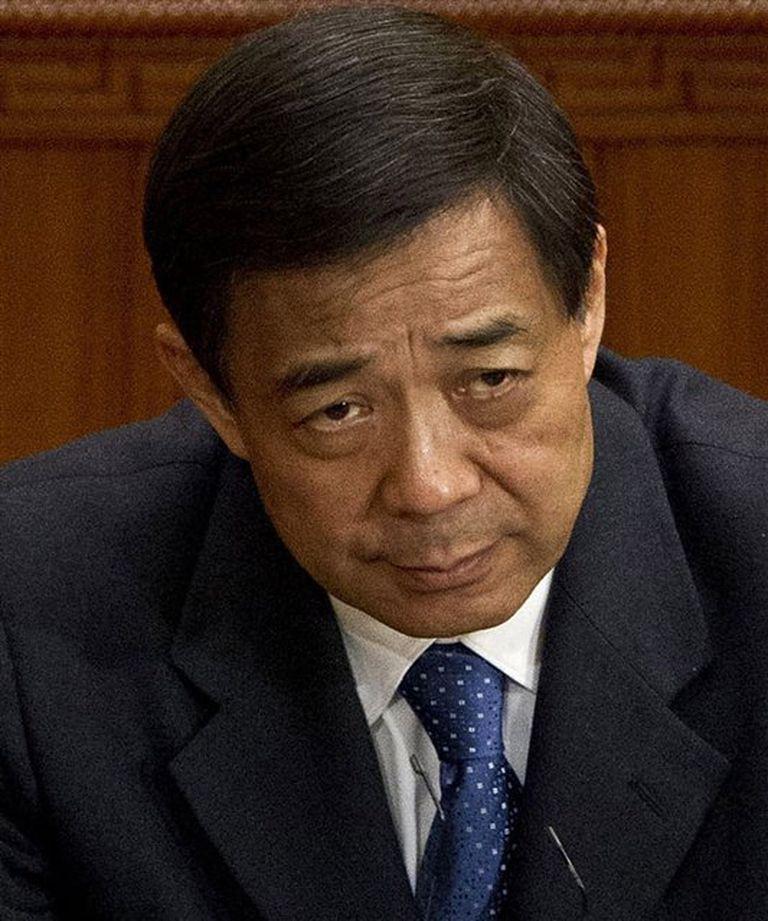 BO XILAI. Dirigente del Partido Comunista