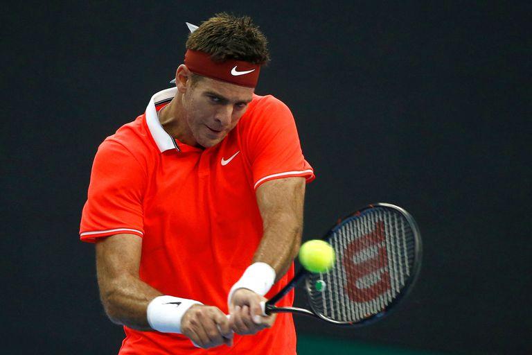 ATP de China: Del Potro debutó con un triunfo ante el español Albert Ramos