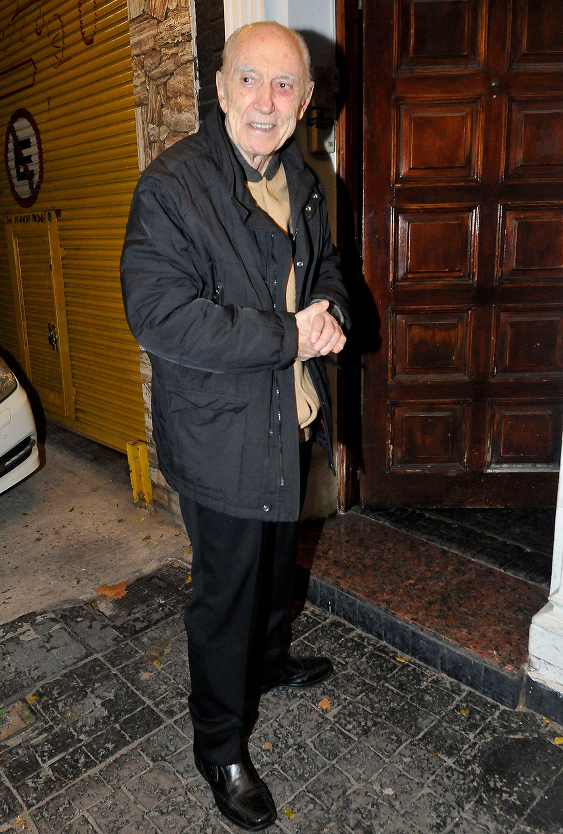 Cacho Fontana fue otro de los invitados de lujo