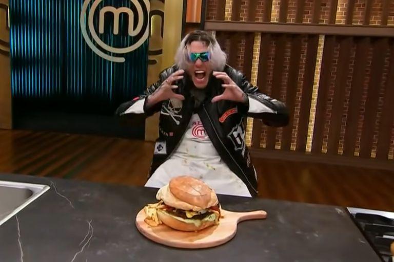 Alexander Caniggia tendrá su revancha gastronómica tras su salida de MasterChef Celebrity: venderá una hamburguesa gigante con su firma