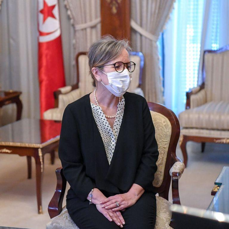 29-09-2021 La primera ministra designada de Túnez, Najla Buden Romdhane POLITICA AFRICA TÚNEZ INTERNACIONAL TWITTER DE PRESIDENCIA DE TÚNEZ (@TNPRESIDENCY)