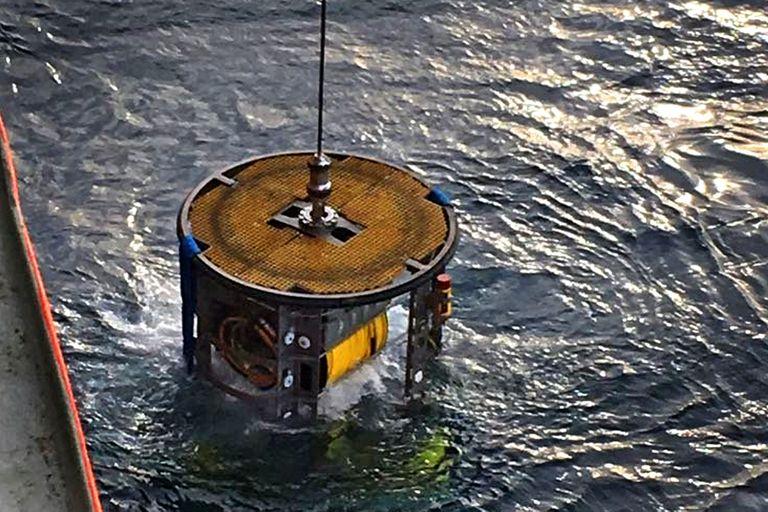 El ROV con el que se pudo ver al ARA San Juan, por primera vez, después de un año sin rastros
