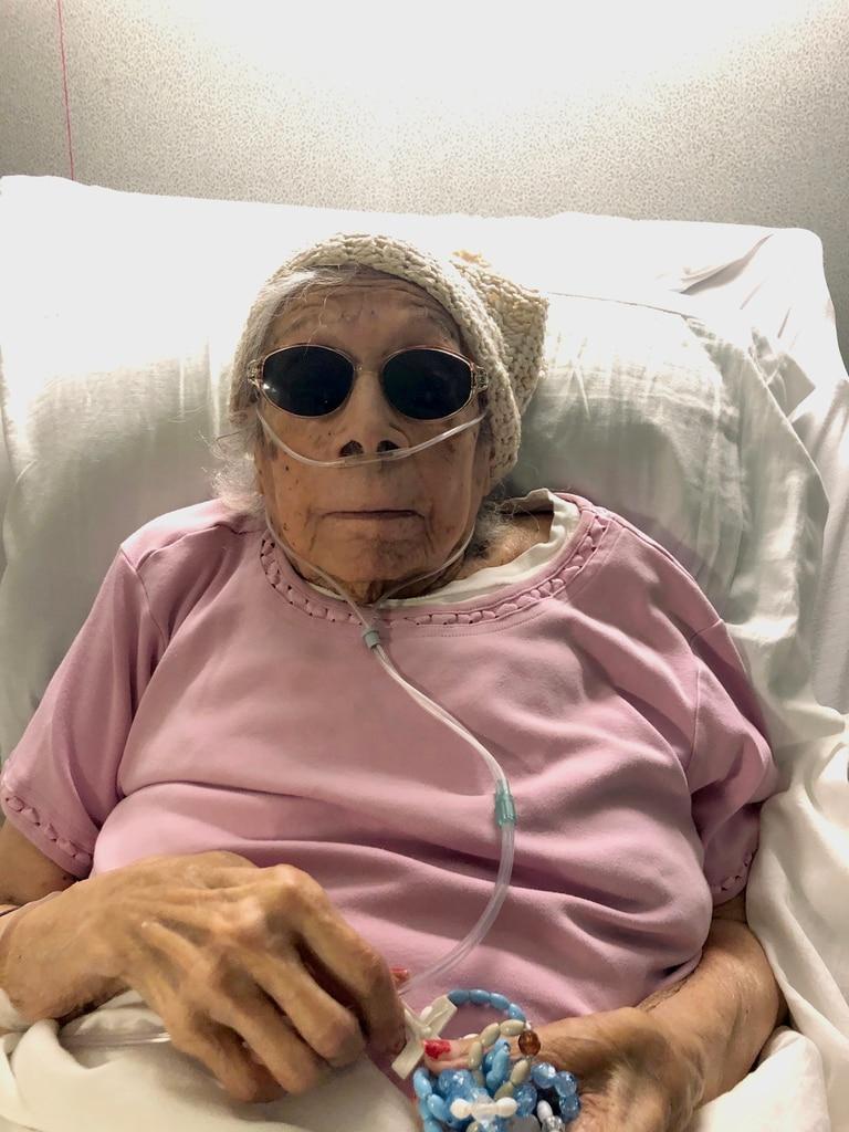 Lucia DeClerck, de 105 años