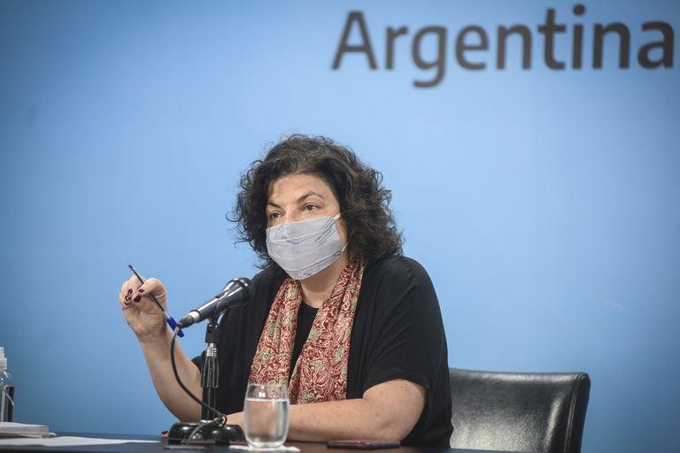 Coronavirus: Carla Vizzotti se reunió hace dos semanas con la cúpula de Pfizer Argentina