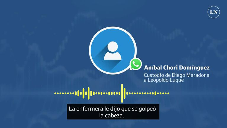 Aníbal Chori Domínguez a Leopoldo Luque