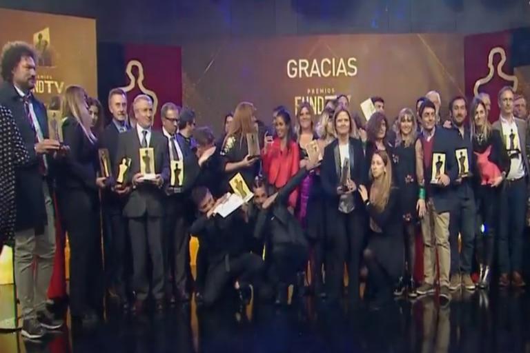 La foto final con todos los ganadores