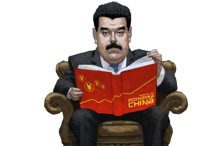 La asfixia financiera llevó al chavismo a implementar reformas financieras con las recetas del gobierno comunista, que además aporta asesores en Caracas