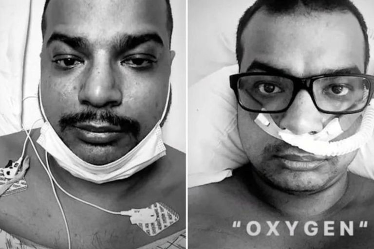 Muere en terapia intensiva un hombre que se burló de las vacunas en redes