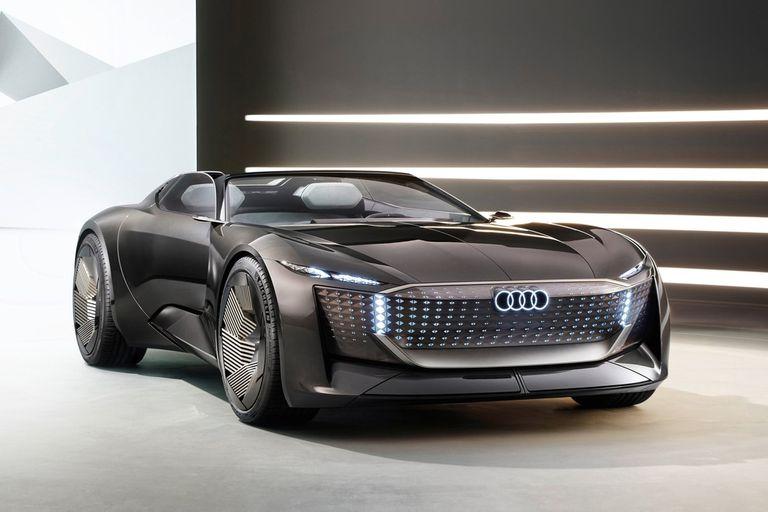 El Audi skysphere anticipa el lenguaje de diseño de los cuatro anillos