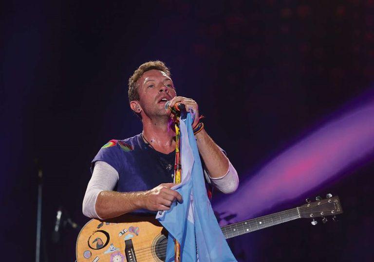 Coldplay dedica un disco y DVD a su público local
