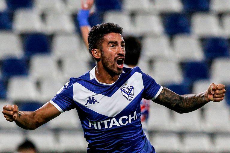 Vélez. En las semifinales de la Copa Sudamericana con un gol agónico de Lucero