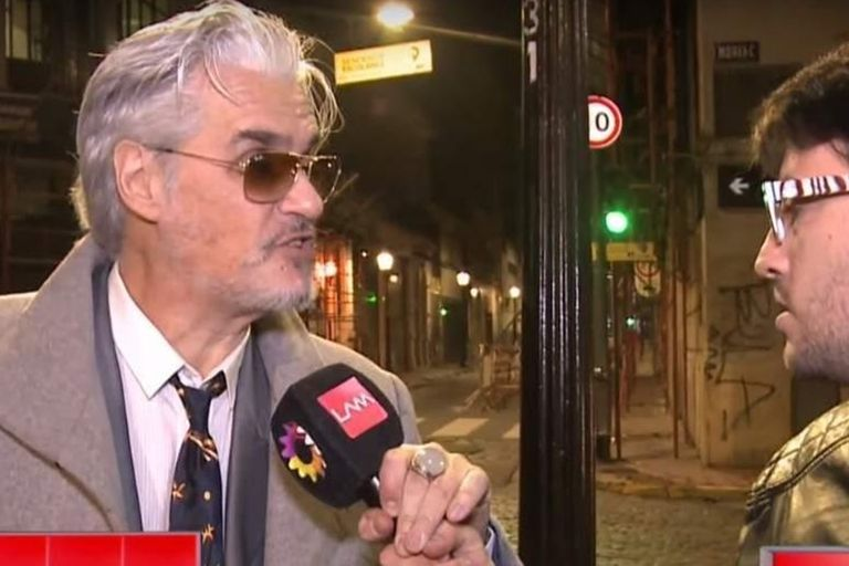 El enojo de Pettinato, al ser consultado sobre las acusaciones de acoso sexual