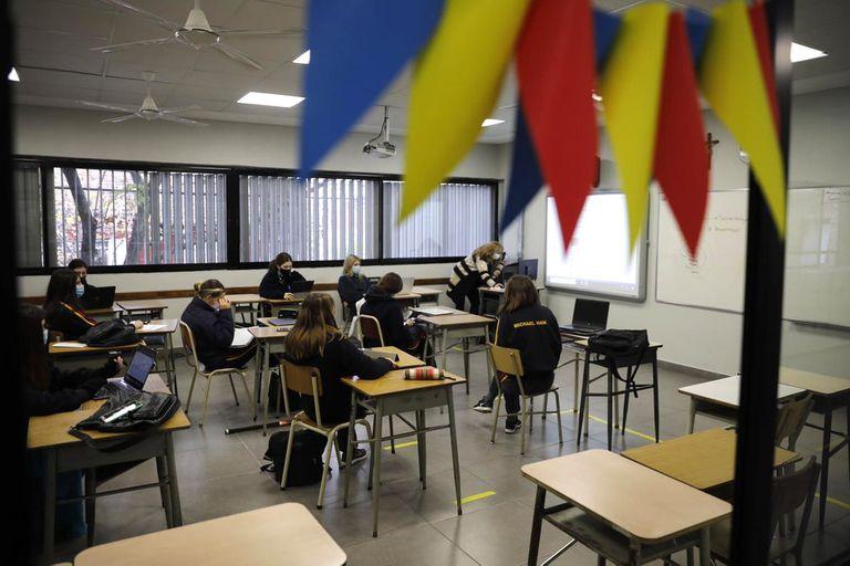 El miércoles de la semana pasada retomaron las clases presenciales los colegios del conurbano bonaerense