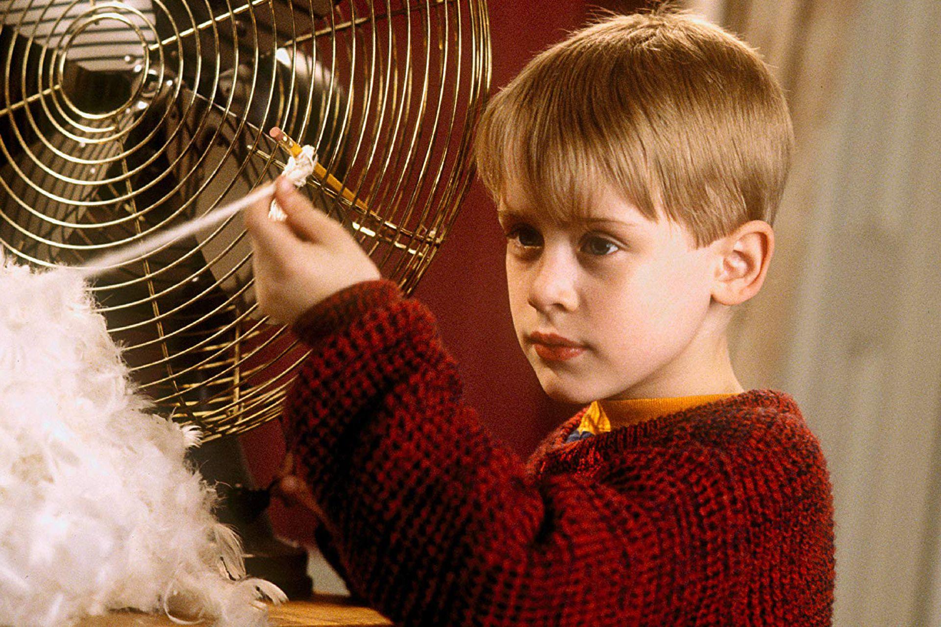 Macaulay Culkin, en Mi pobre angelito