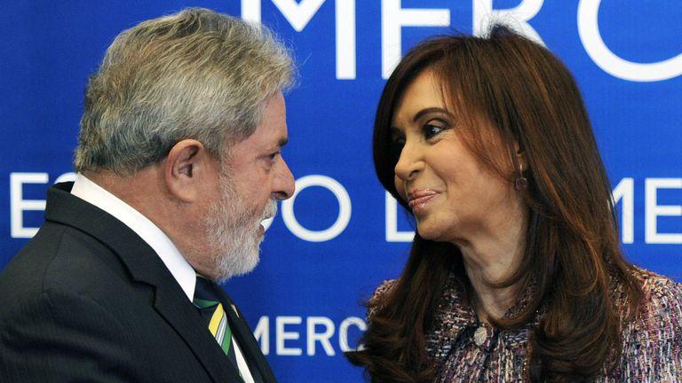 El Instituto Patria desembarca en Brasil de la mano del Instituto Lula