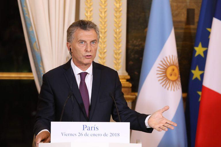 """Tras el encuentro con Macron, Macri destacó """"la gigantesca oportunidad"""" que significaría un acuerdo Mercosur-UE"""