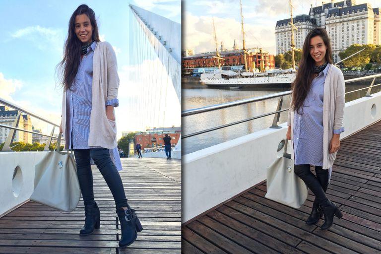 Camisa XL + Calzas + Saco tejido tapacola