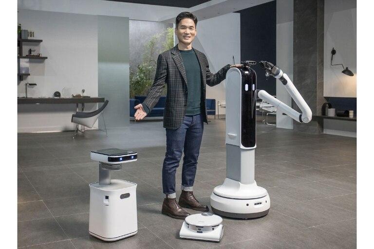 Los nuevos robots hogareños de Samsung