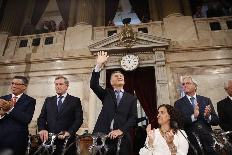 Macri, el jueves en el Congreso, con algunas definiciones