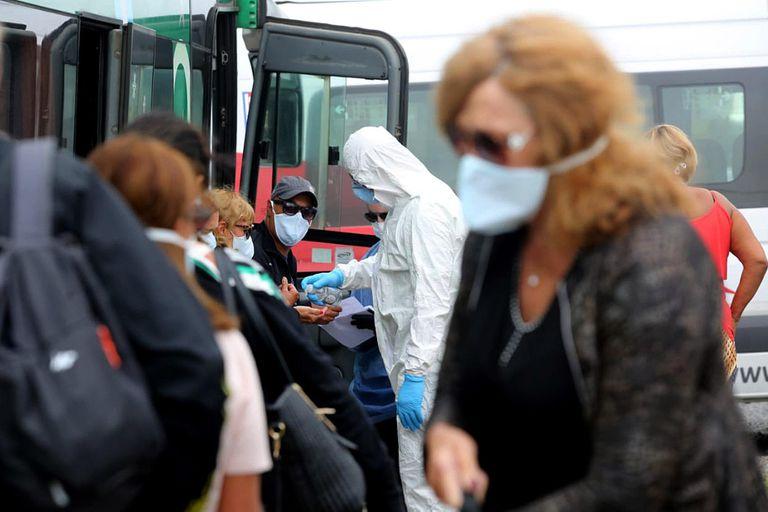 Coronavirus en Argentina: casos en Uruguay, Entre Ríos al 7 de Junio