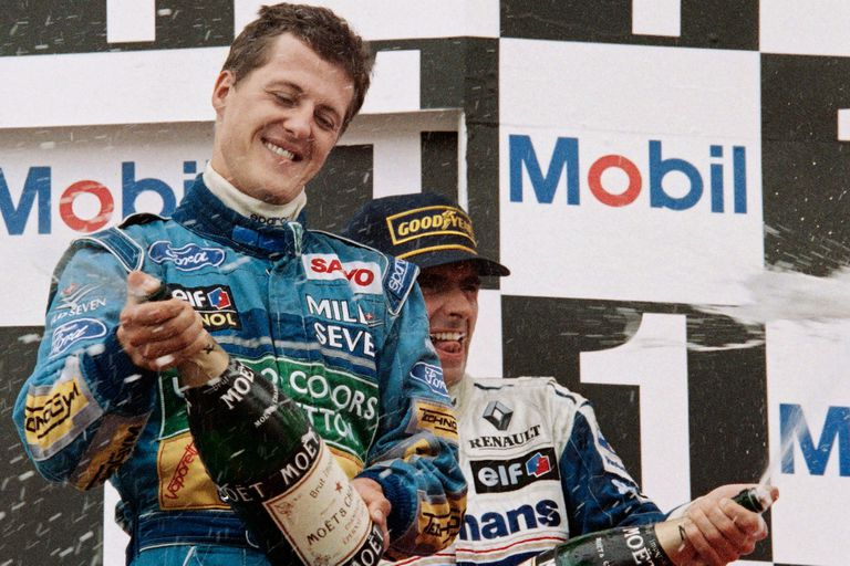 A 25 años. Cuando la F1 consagró a su leyenda: el primer título de Schumacher