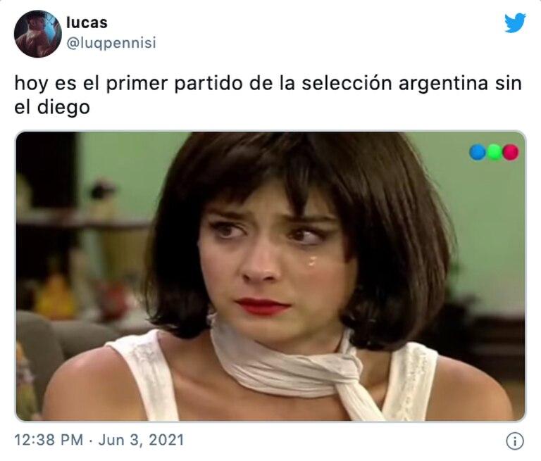 Los mejores memes por el partido de la Selección argentina