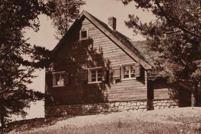 Los combatientes de la resistencia a menudo se escondían en la casa de campo del bosque de Gardiner